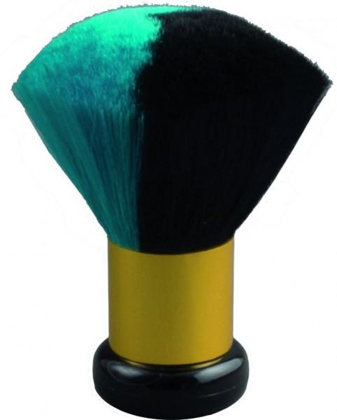 Nackenpinsel Color Mix Türkis-Schwarz