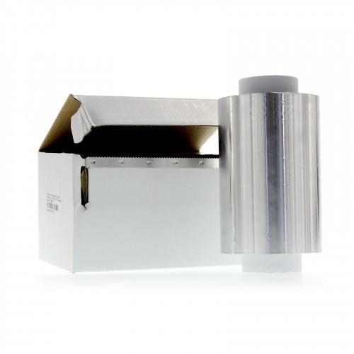 Strähnenfolie Aluminium 12 cm x 250 m x 15 my