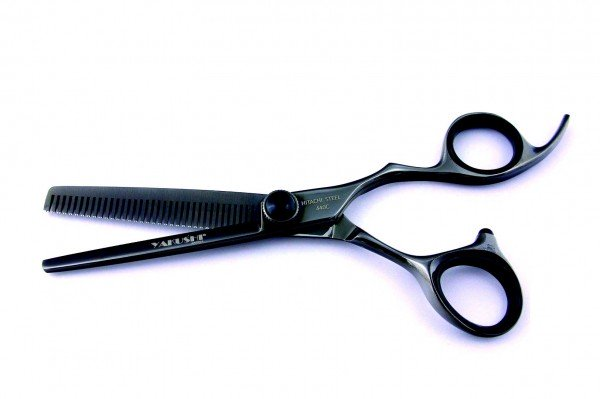 Thinning Scissors Chameo Black Titan Yakushi