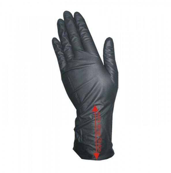 Vinyl Gloves with XL-Sleeve - Powderfree