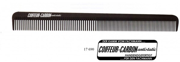 "Carbon Cutting Comb 9"""