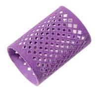 Metallwickler Ø 45 mm violett, beflockt, 12 St.