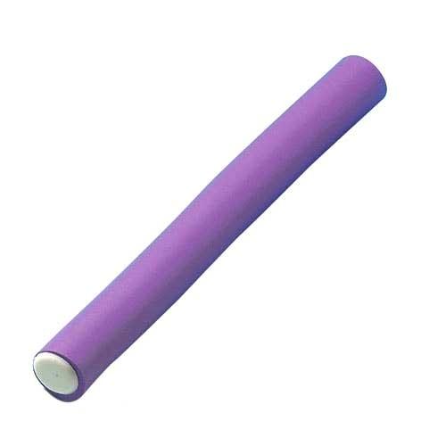 Papilotten Ø 21mm, 170mm kurz, 6 St., violett