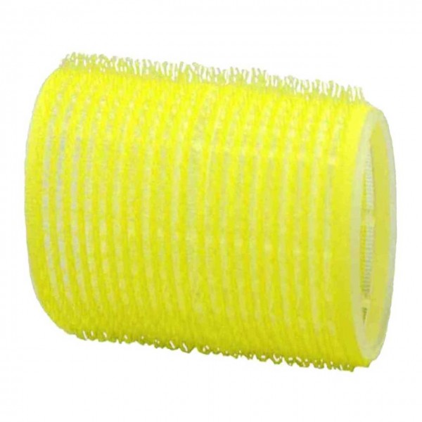 Adhesion-Curler XL 60 mm, 6 Pcs., Ø 66 mm yellow