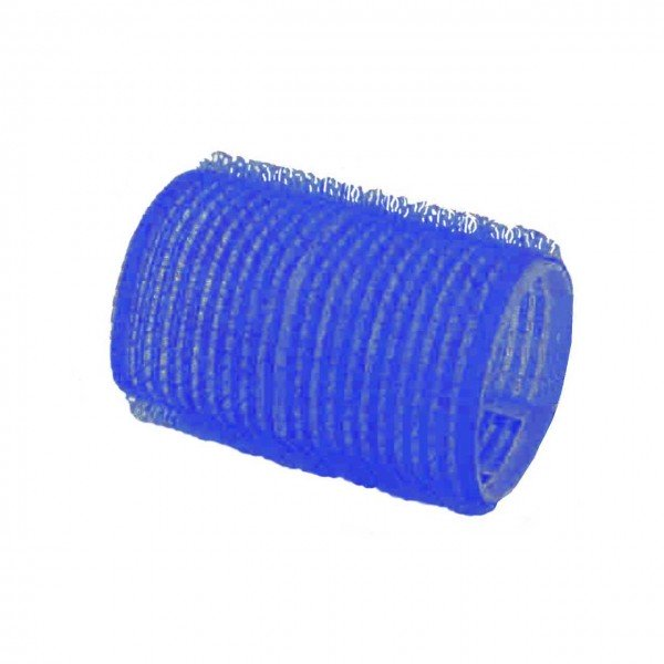 Adhesion-Curler 60 mm, 12 Pcs., Ø 40 mm blue