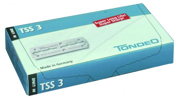 Razor Blades Tondeo TSS3 Long