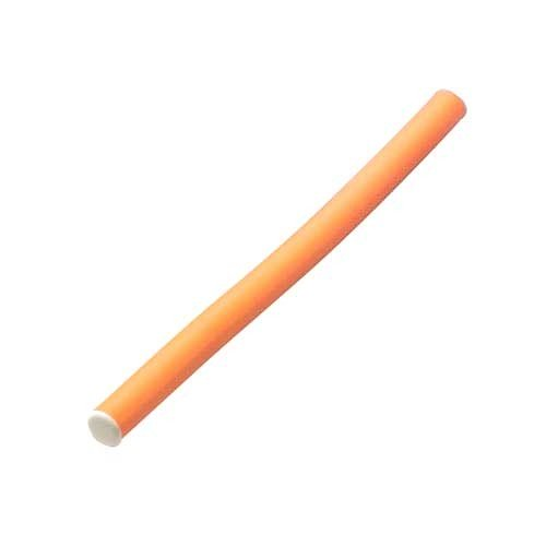 Papilotten Ø 17mm, 254mm lang, 6 St., orange