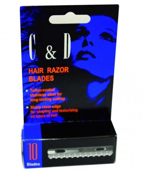 Rasierklingen C & D Hair Razor Blades