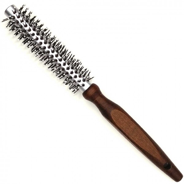 Round Thermo Brush with Wooden Handle Ø 12 / 28 mm