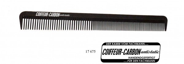 Carbon Cutting Comb 7.5""