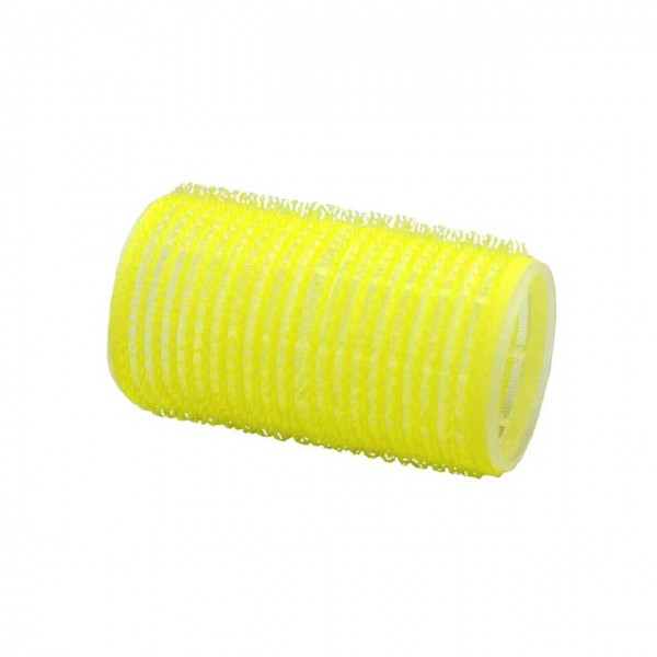 Adhesion-Curler 60 mm, 12 Pcs., Ø 32 mm yellow