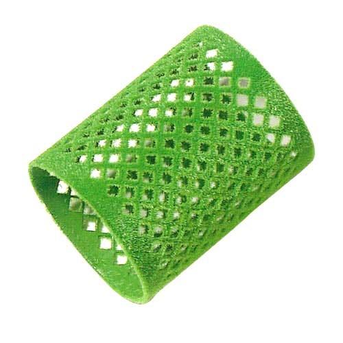 Metallwickler Ø 50 mm grün, beflockt, 12 St.