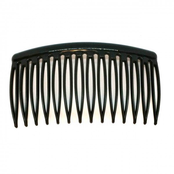 Side Comb Black 7/8 cm