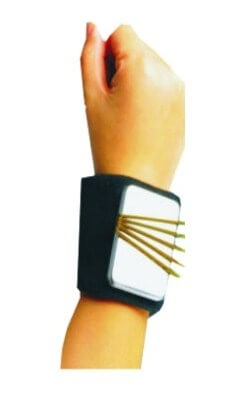 """Magnetic Wristband for Bobby Pins """"Pins Up"""""""