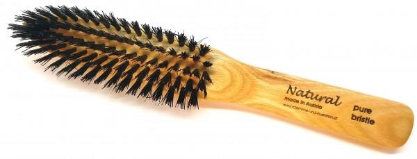 Naturborstenbürste spitz aus Eschenholz