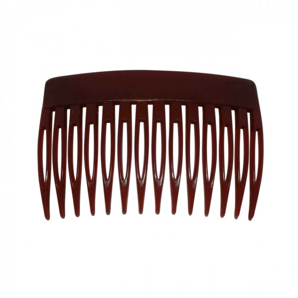 Side Comb Red-Brown 7cm