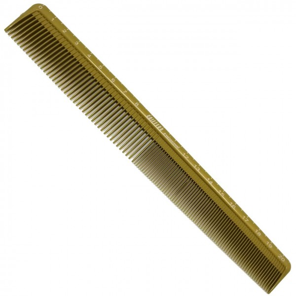 "Hair Cutting Comb 9"" long incl. cm Scale"