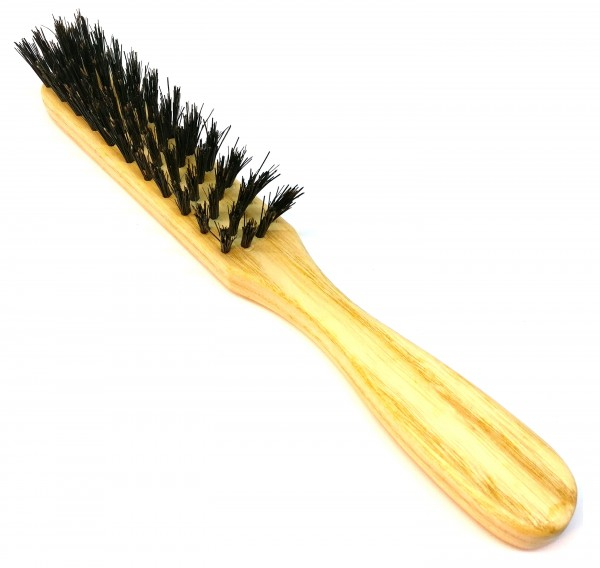 Pointed Slender Natural Bristle Brush