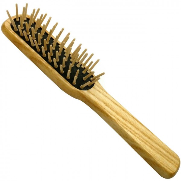 Pneumatic Brush with Wooden Pins