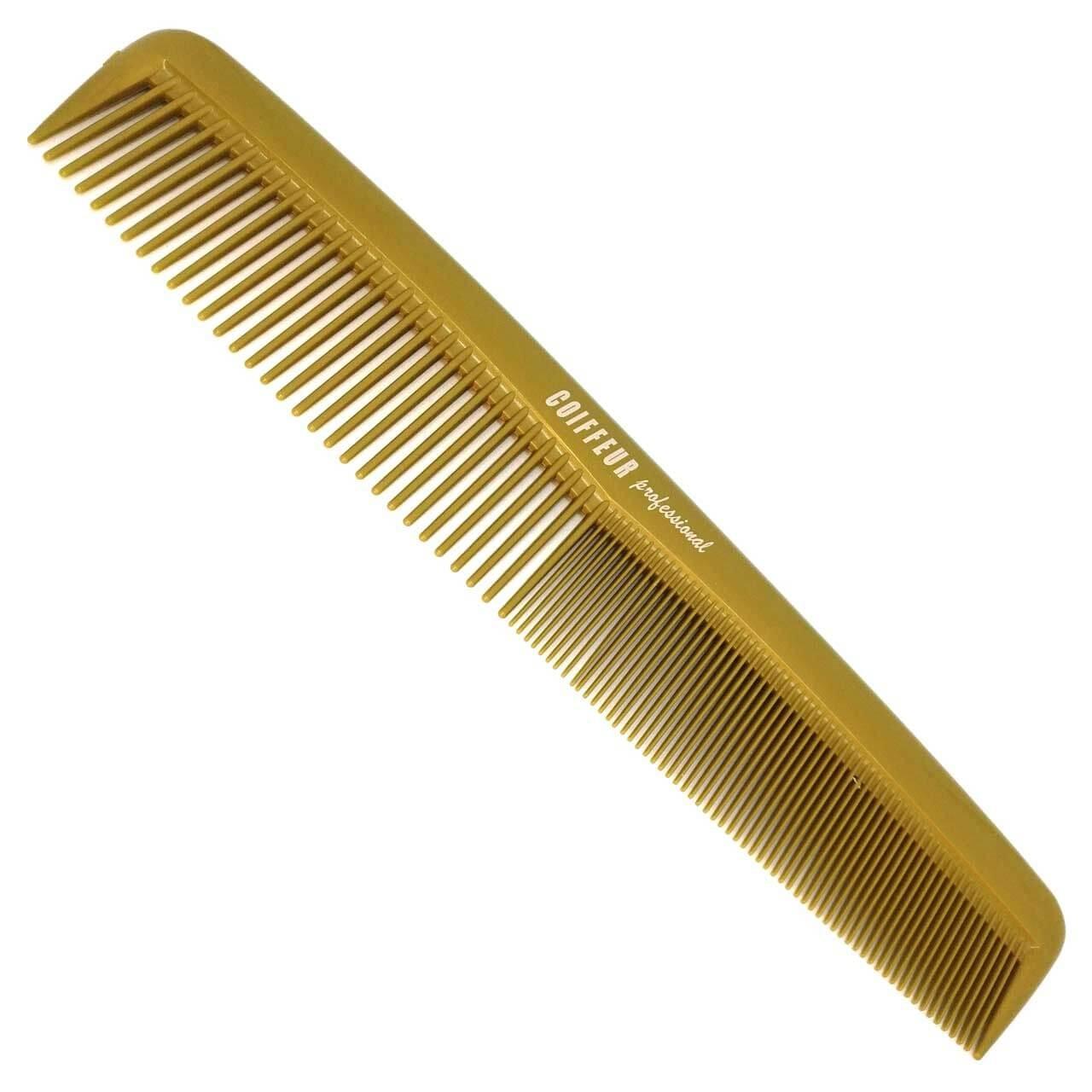 """Frisierkamm groß 9"""" Zoll (22,9 cm) hergestellt aus DELRIN - Farbe: GOLD"""